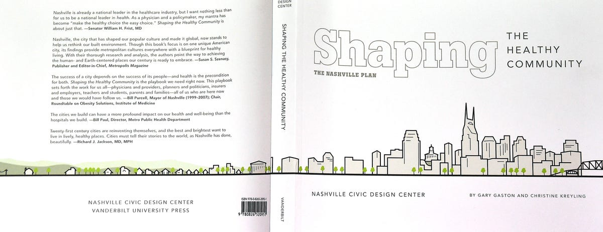 Nashville Civic Design Center inks guide to making cities