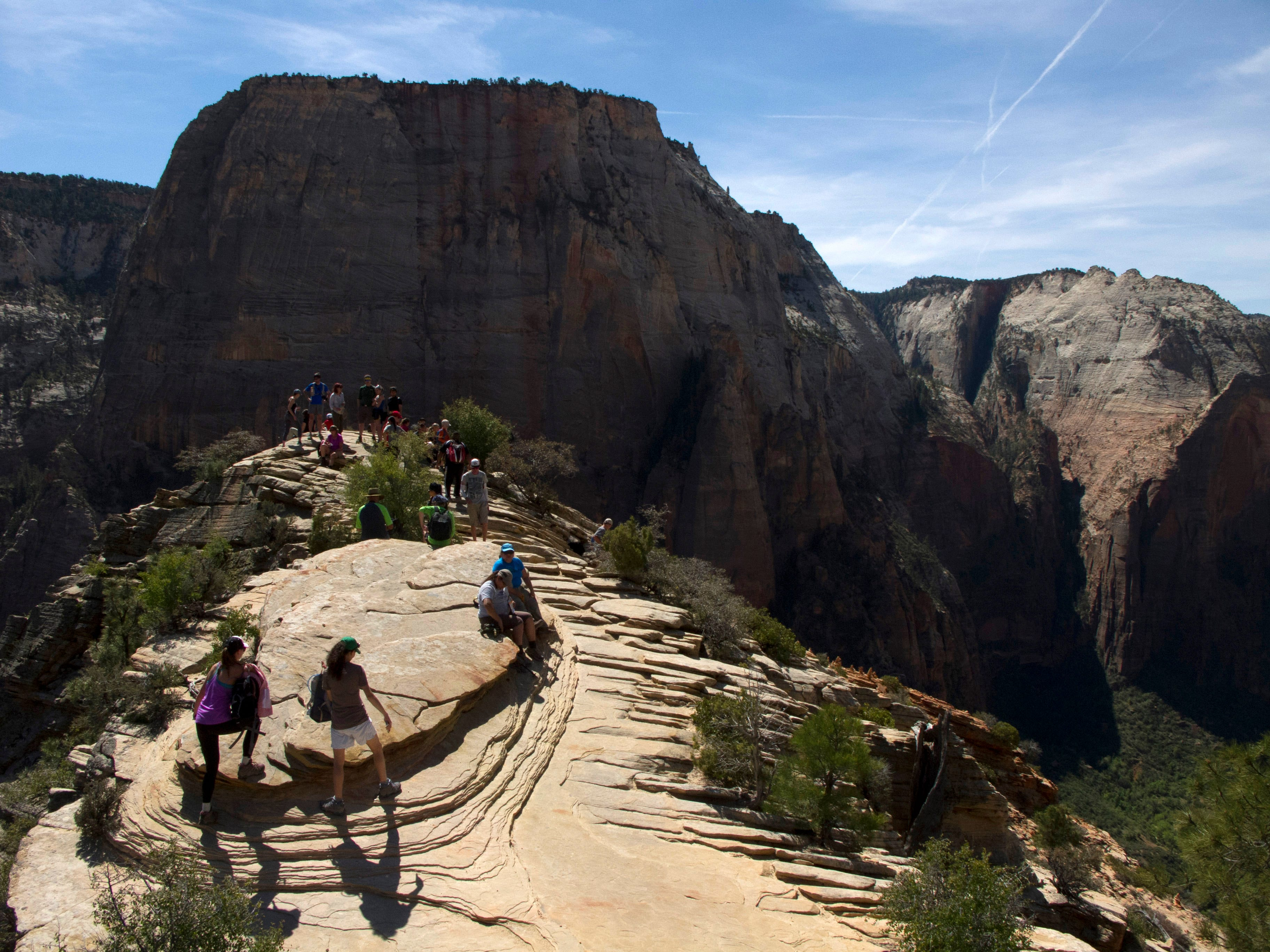 Budgets dropping as Zion deals with crowds