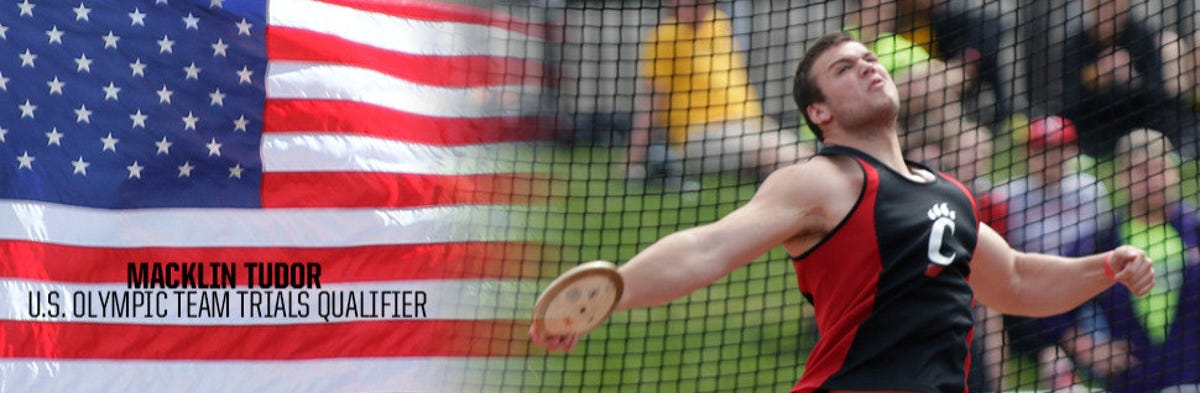 UC discus thrower qualifies for US Olympic Trials