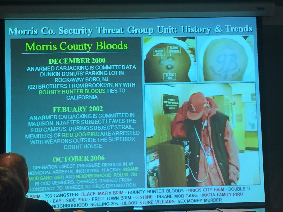 Gang members living with Morris County jail inmates