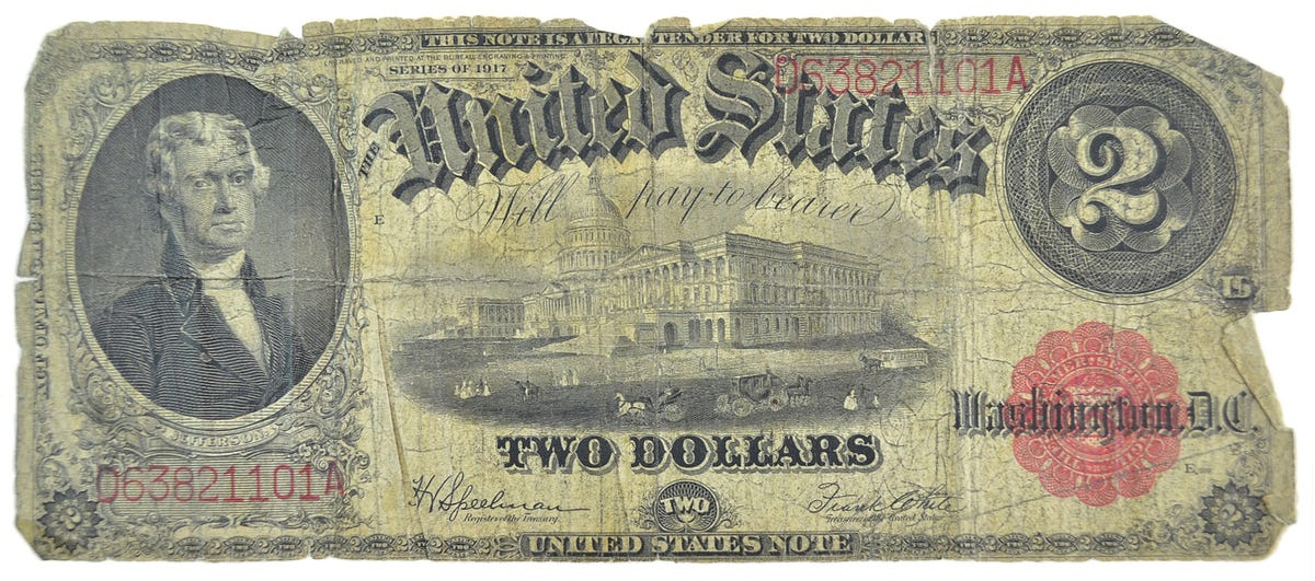 Is your $20 bill worth $20,000?