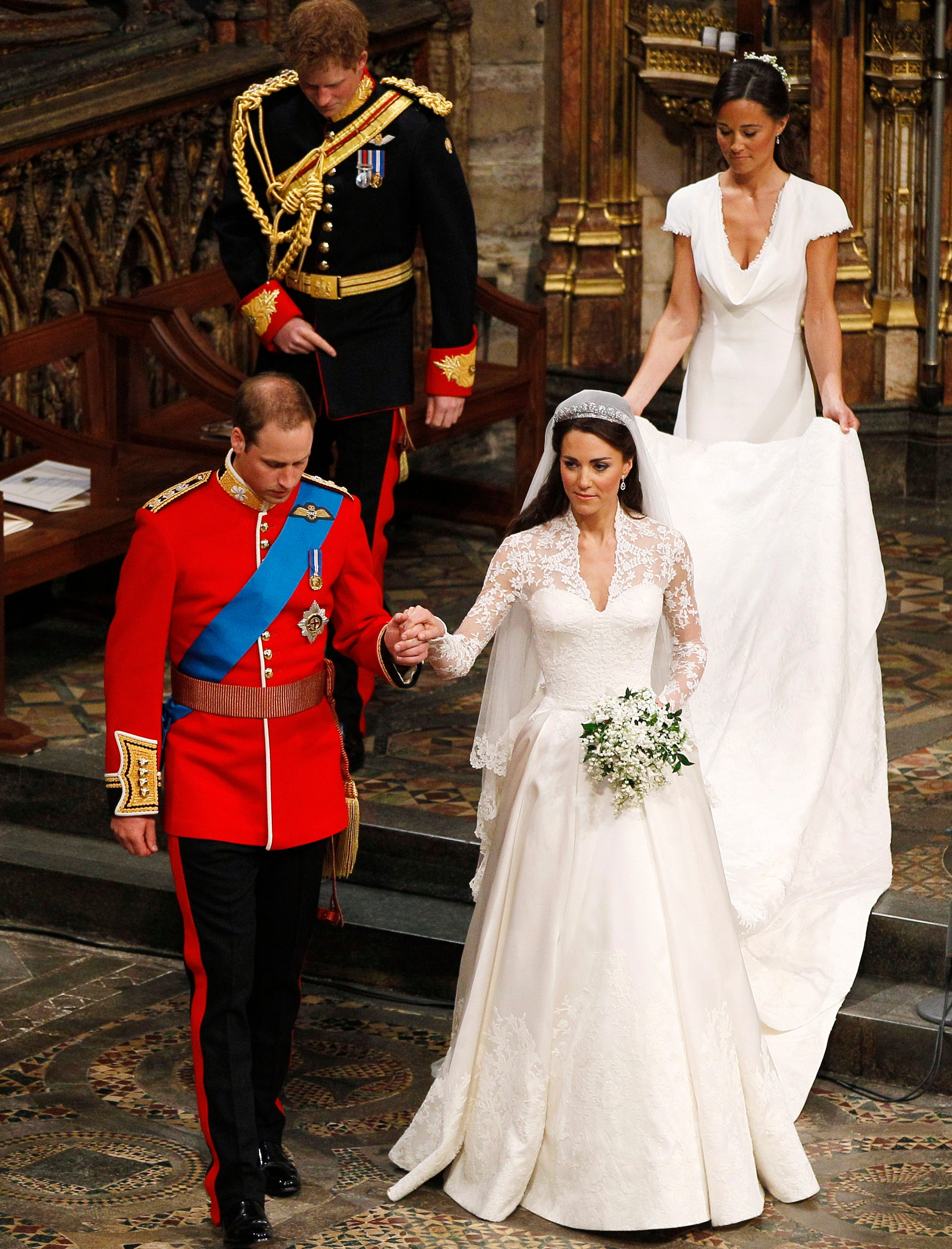 Принц уильям фото с свадьбы гостей