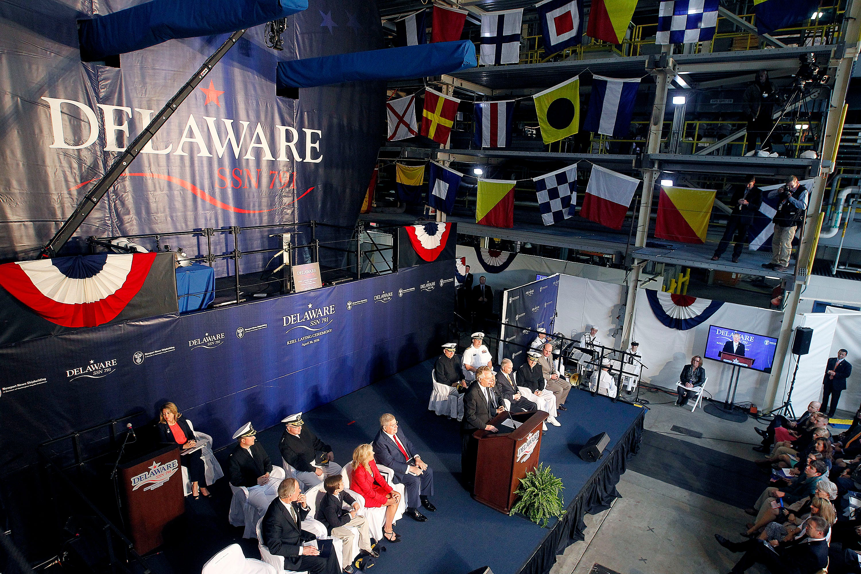 Delaware has its day: Newest Navy submarine named in honor of the First State | Delaware Online