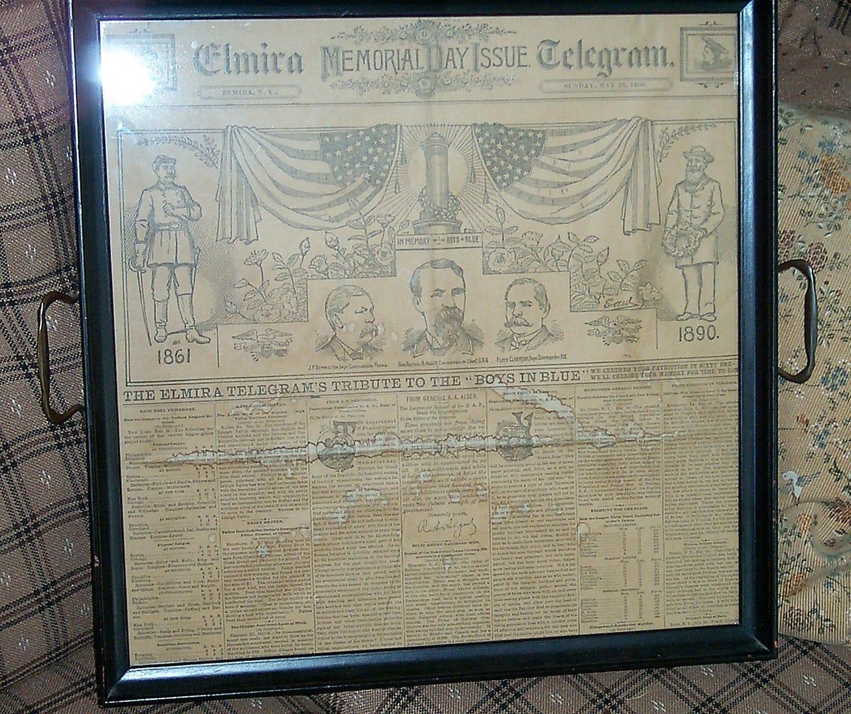 Elmira History: Fire destroyed newspaper building