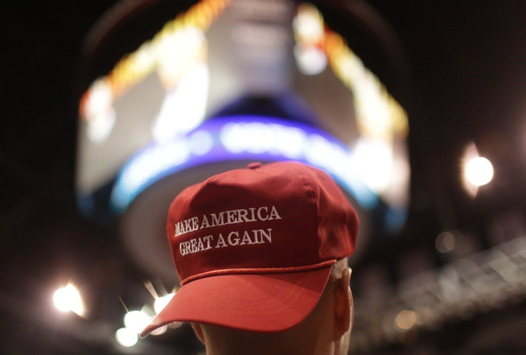Woman who knocked off man's MAGA hat now faces deportation