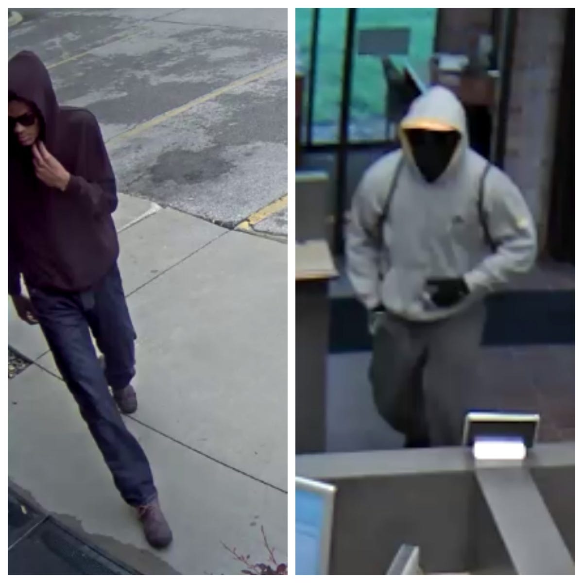 Des Moines credit union robbed again