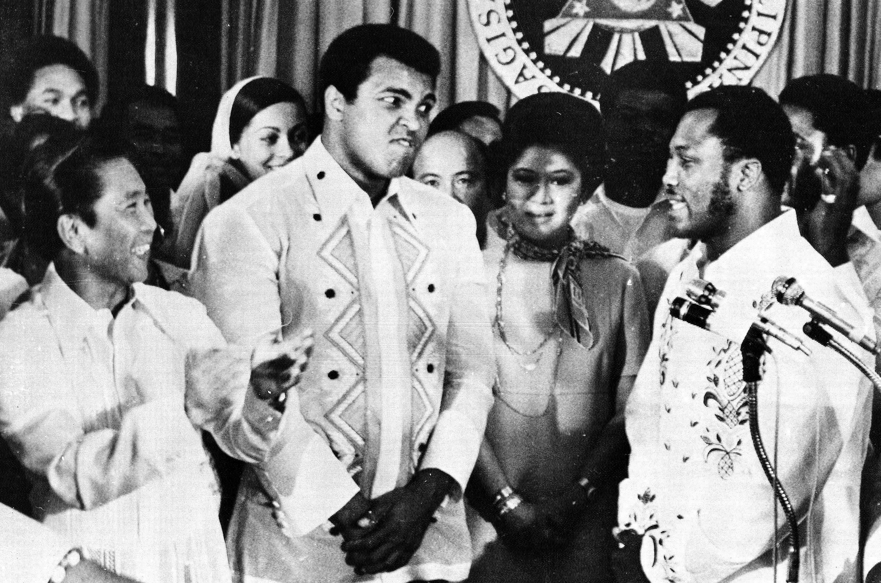 """""""It'll be a killa, a chilla, a thrilla, when I get the Gorilla in Manila!'' was Ali's pre-fight proclamation in the build-up to his stirring 1975 triumph against Frazier in the """"Thrilla in Manila,'' the third and final bout in their compelling trilogy."""