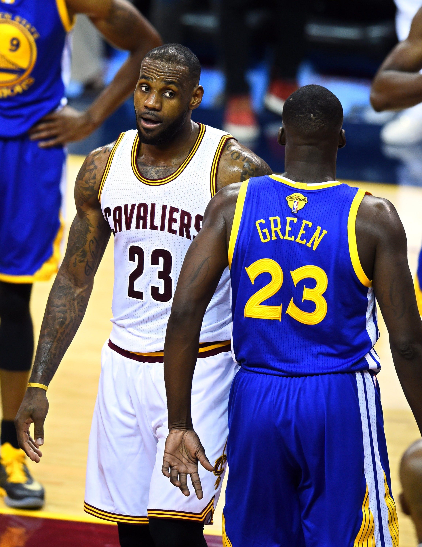 bb8f5253f468 NBA Finals devolves into trash talk after Draymond Green-LeBron James spat