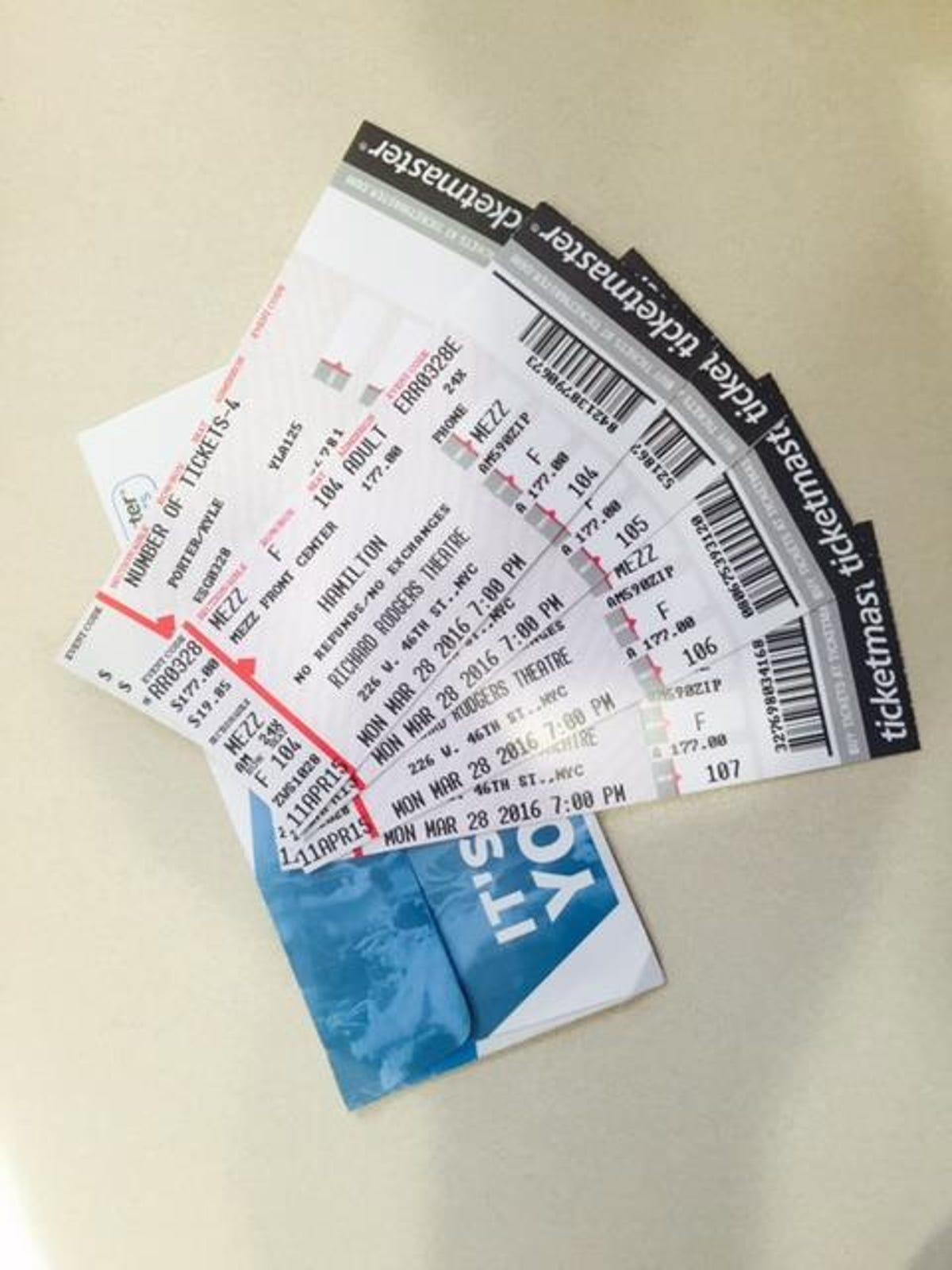 Hamilton' fans burned by fake tickets