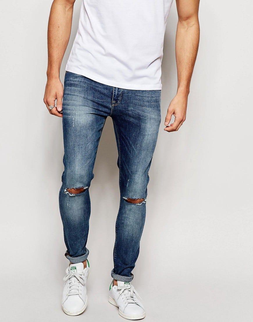 как подвернуть мужских джинс фото узкие в 2014