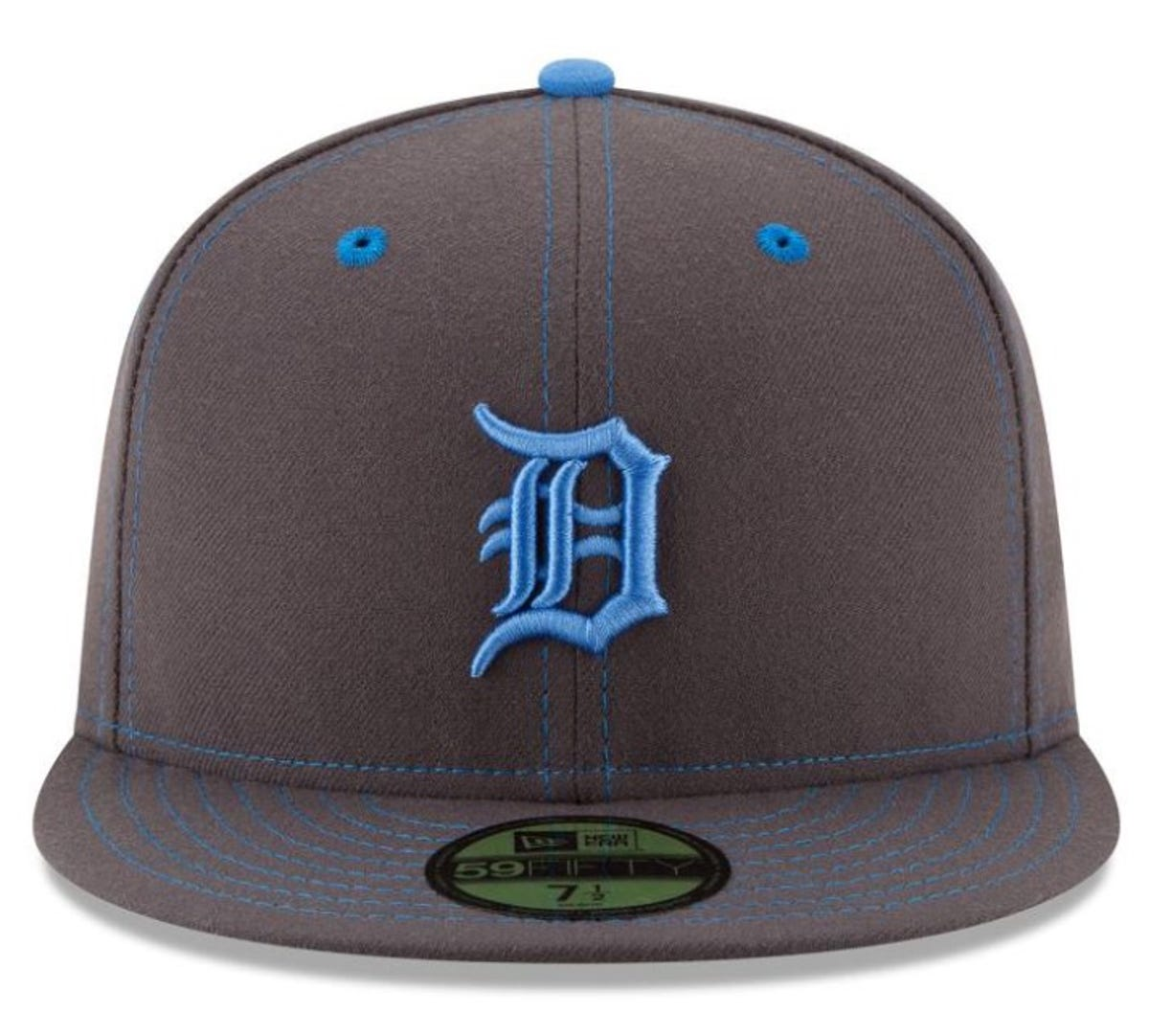 7e9e4119 Check out the Detroit Tigers' baby blue Father's day jersey, cap