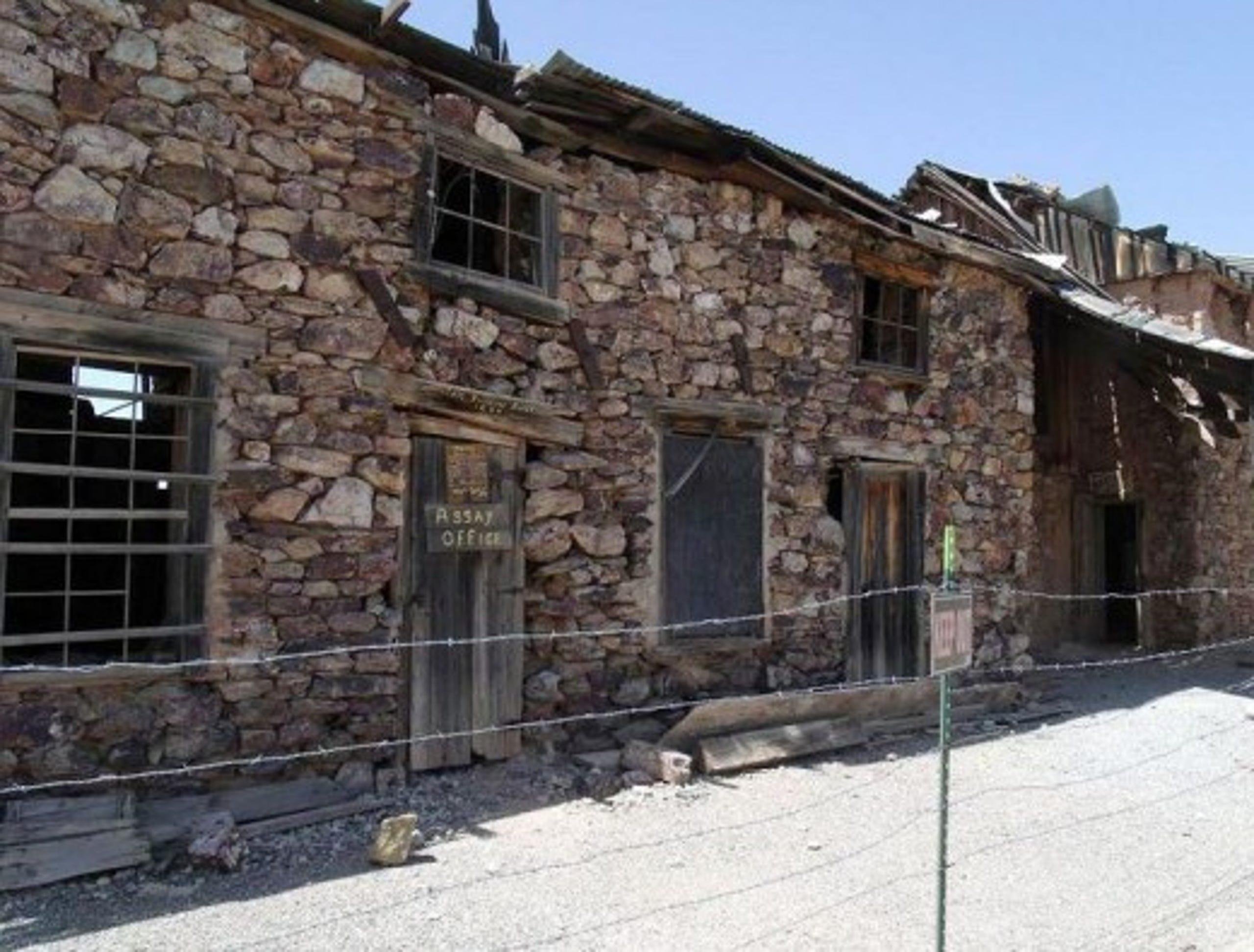 Vulture Mine assay office (1884)