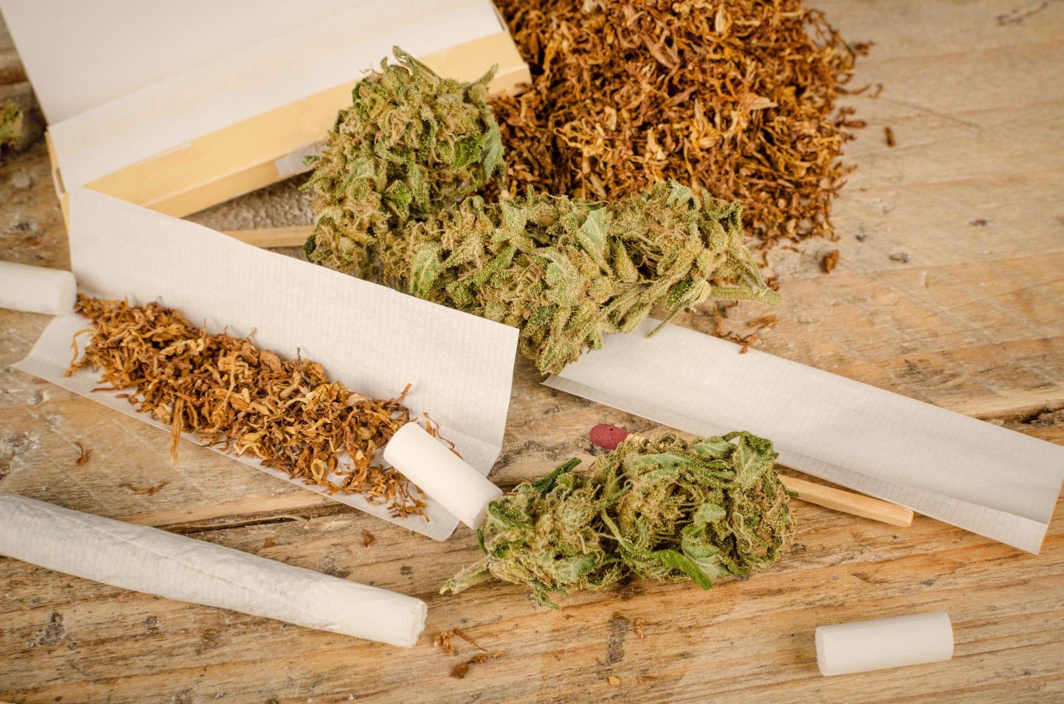 States smoking the most marijuana