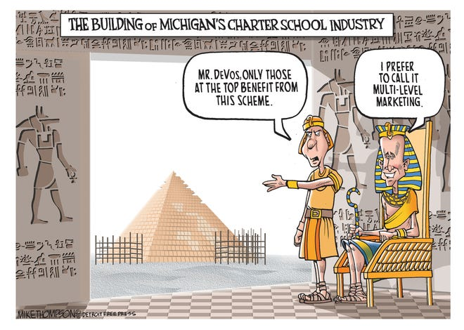 Michigan charters