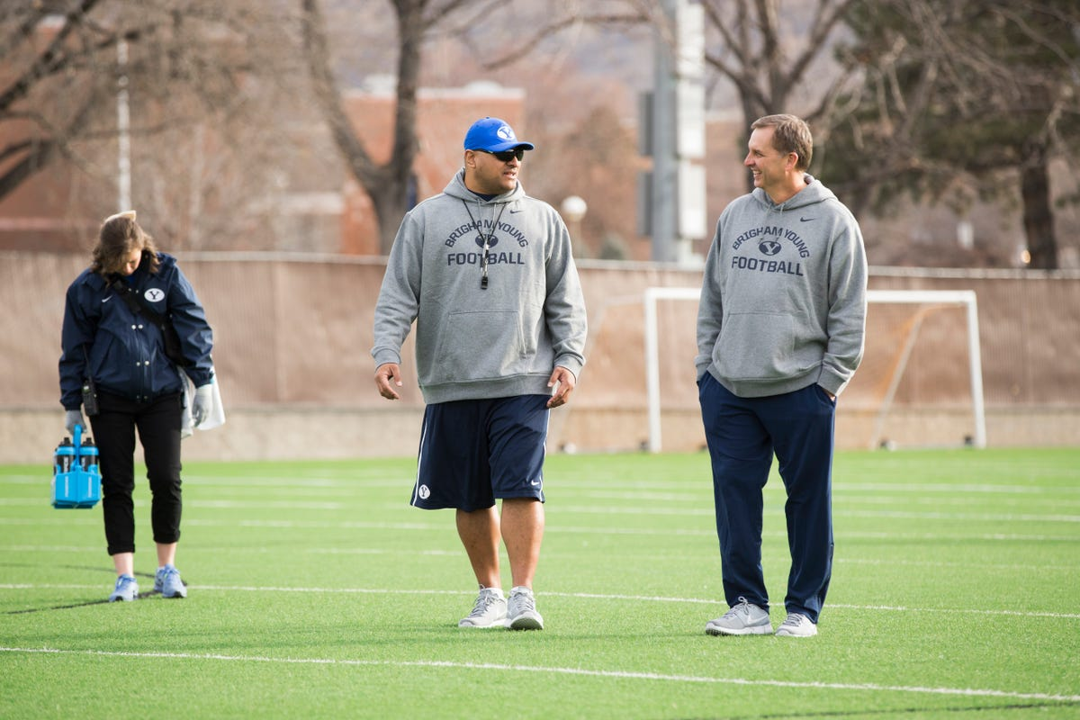 With Ty Detmer in coaching role, BYU sees past and future