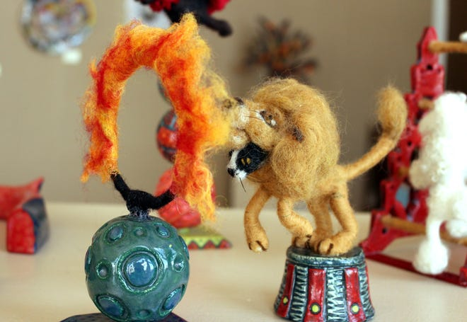 Fire and Fiber is the theme for the July art show at the Deming Art Center, 100 S. Gold St. The Deming Art Council is excited to announce the reopening of the center for this show that brings together the Potter's Guild of Las Cruces and fiber artists of the southwest. The show will be on exhibit July 2-30.