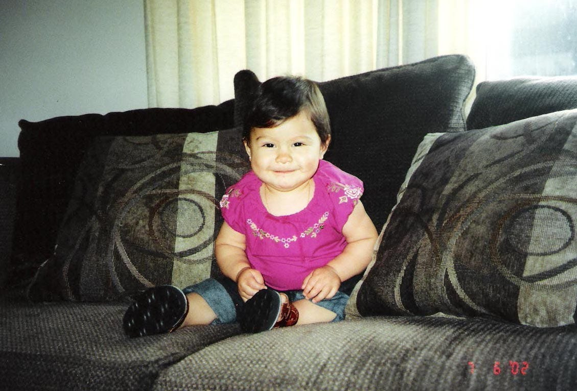 Karizma Vargas was born without any health problems but suffered severe brain damage following an accident when she was 14 months old.