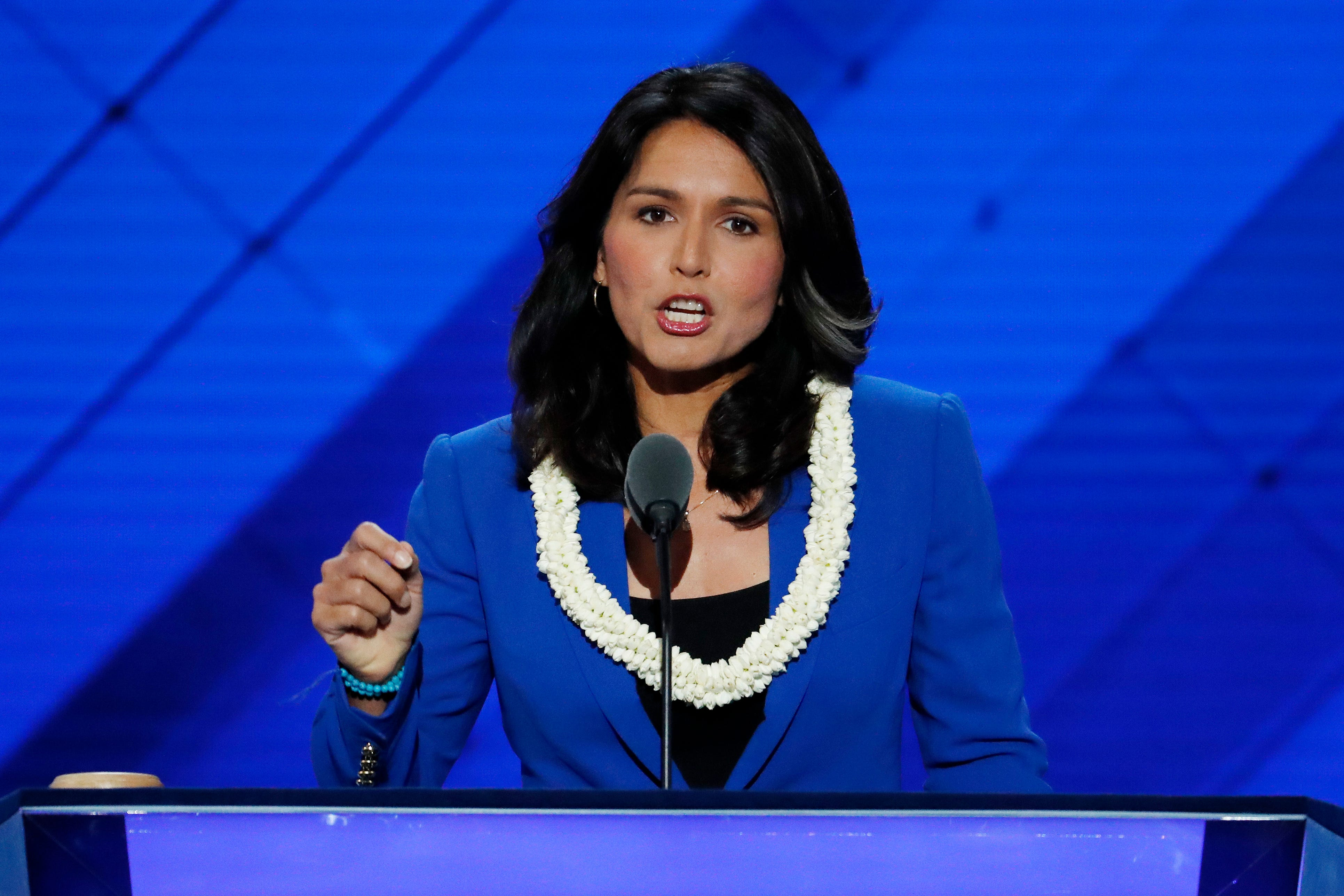 Democrat Tulsi Gabbard announces 2020 run for president to take on Trump