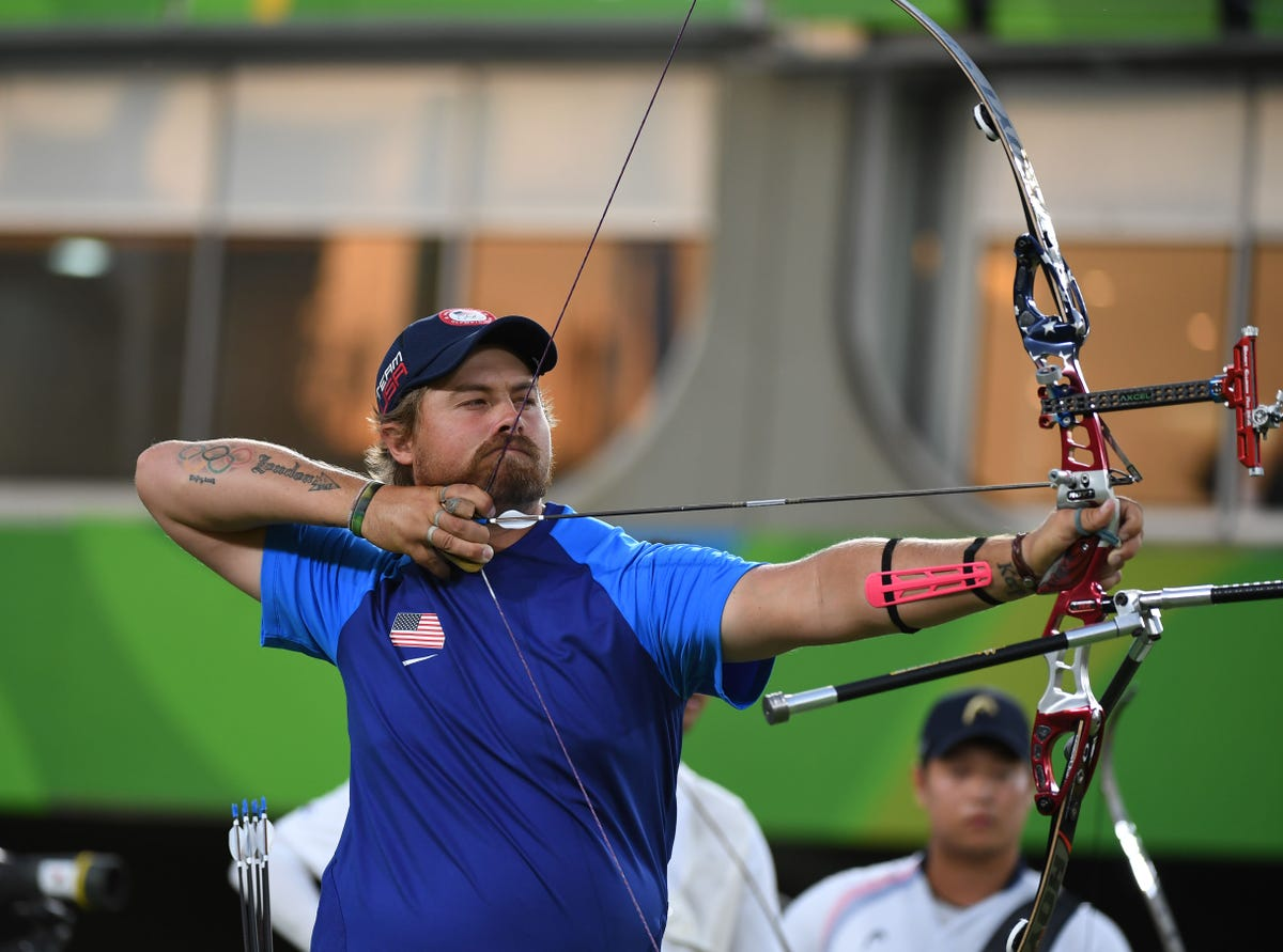 Arizona archer Brady Ellison happy with Rio silver