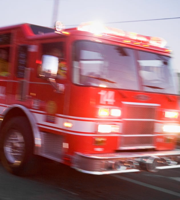 Driver in critical condition after crashing with fire truck in Spanish Springs | Reno Gazette Journal