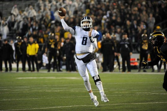 Jake Constantine led the Camarillo High football team to 15 wins and a trip to the CIF Division II-AA state championship bowl against Del Oro High in 2015.