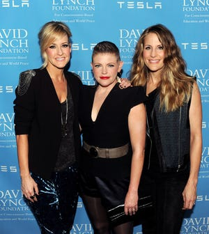 Musicians Martie Maguire, left, Natalie Maines and Emily Robison of The Dixie Chicks, now The Chicks.
