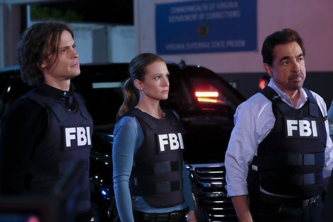 A scene from the CBS TV series 'Criminal Minds.'