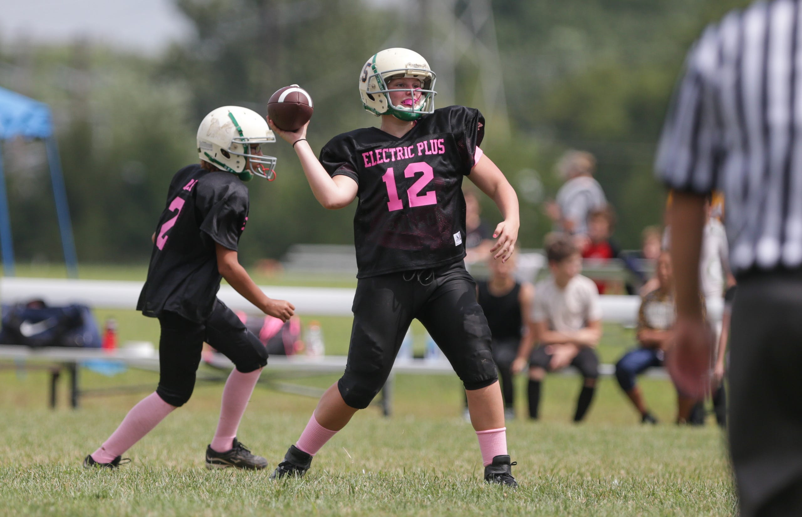 Indiana Girls Tackle Football Leagues face off