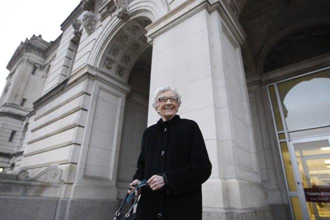 Retired judge Ruth Klotz, 93, remains an active member of Soroptimist International of Des Moines.