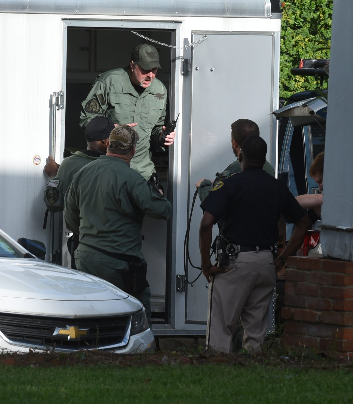 Standoff ends peacefully, suspect in custody