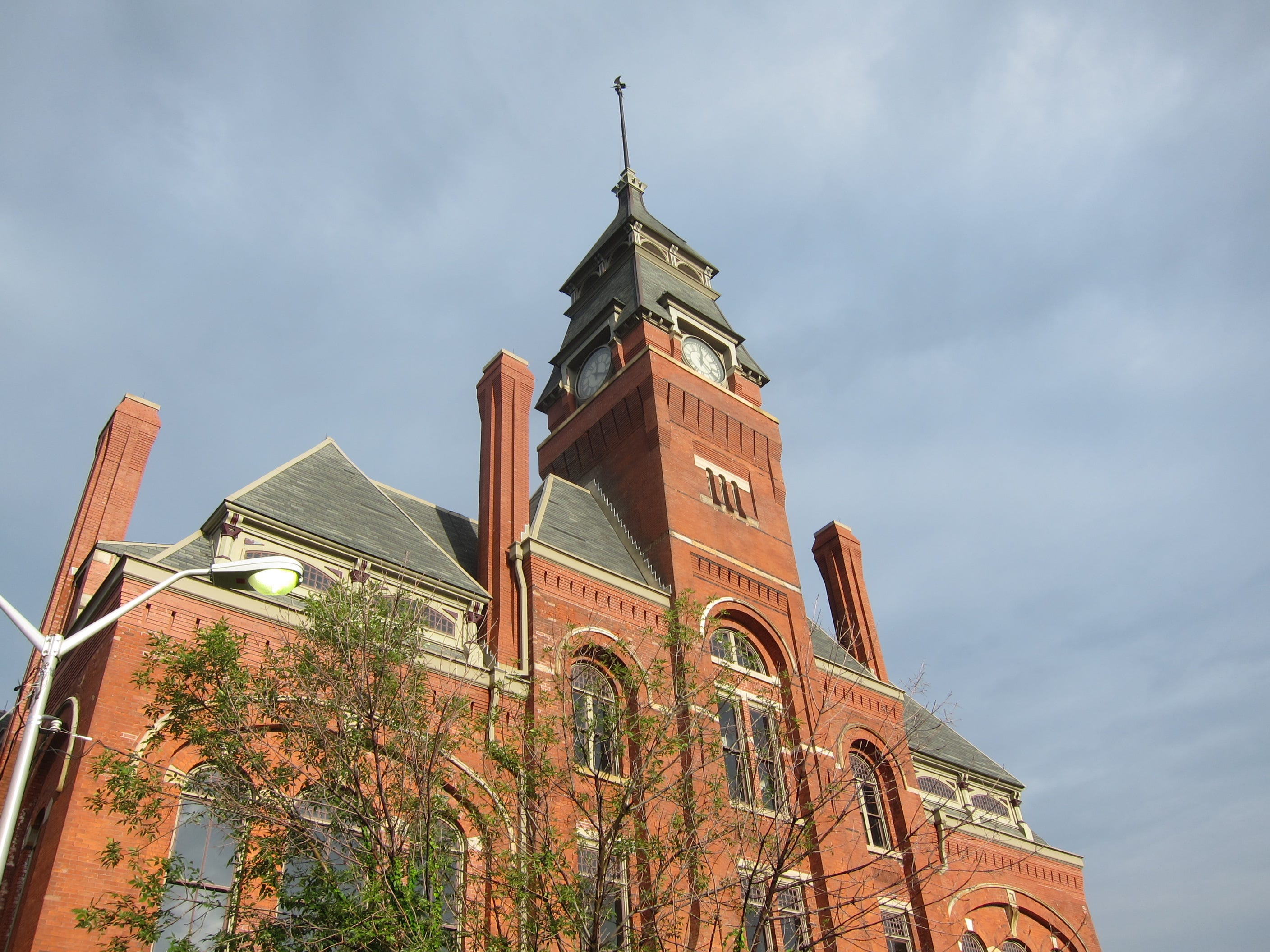 The Pullman Clock Tower and Administration Building is the iconic symbol of the Pullman National Monument.