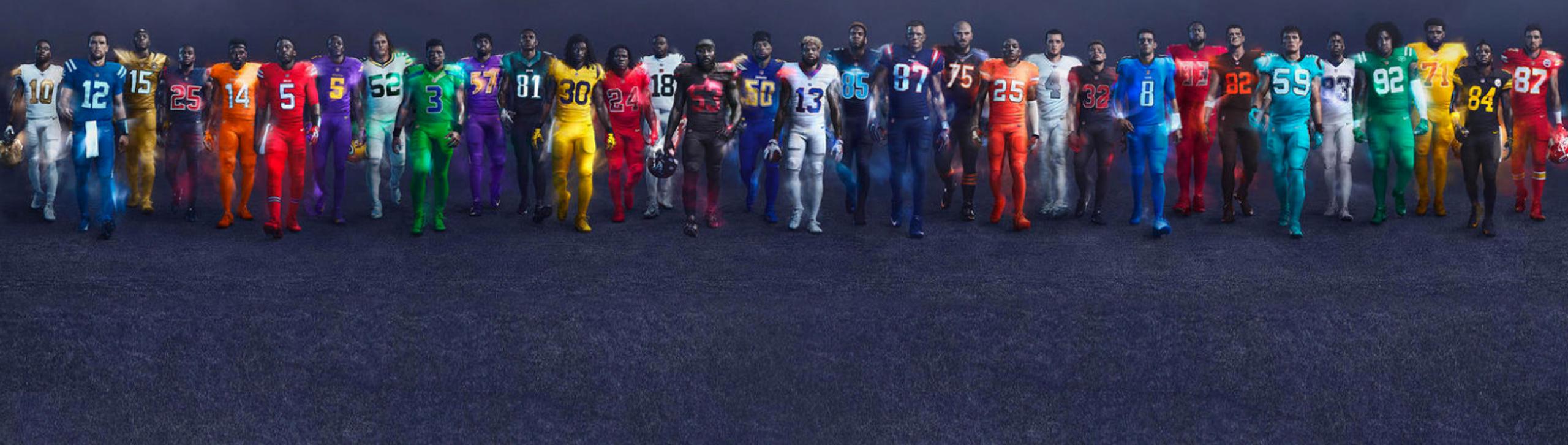 NFL Color Rush uniforms - 2016