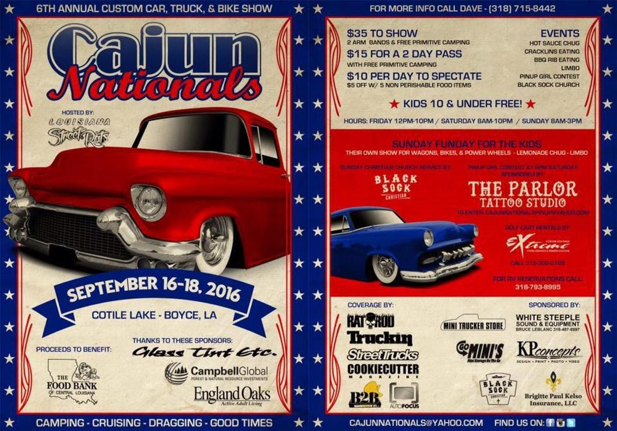 Cajun Nationals show begins Friday at Cotile Lake Recreation Area