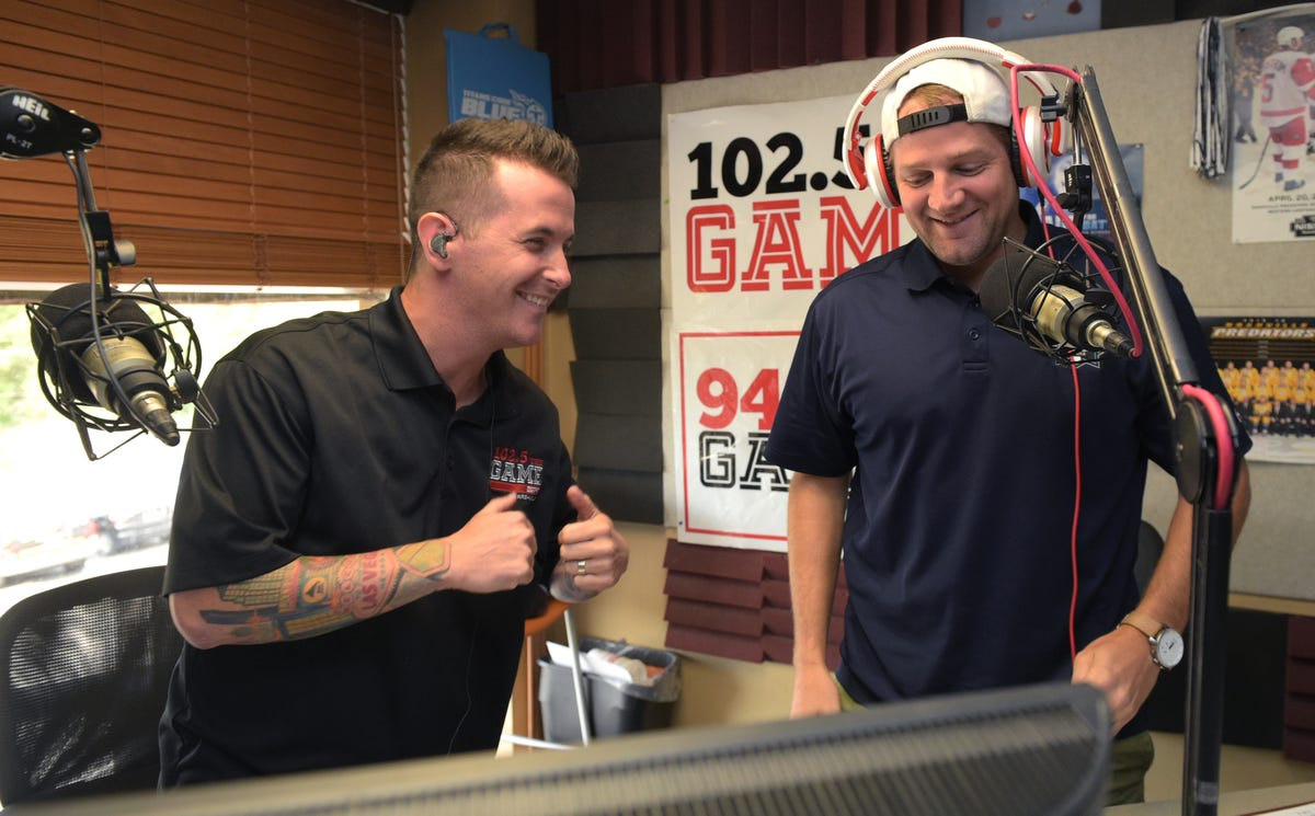 The Band Perry's fiddle player trades spotlight for sports radio