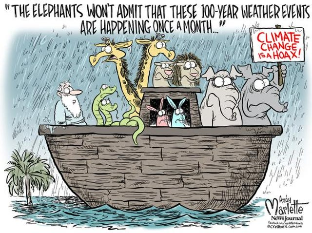 Editorial cartoons: Climate change