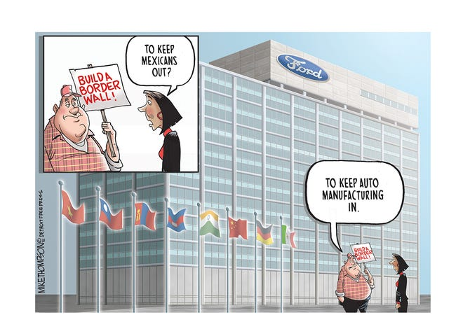 Ford's plans for Mexico production.