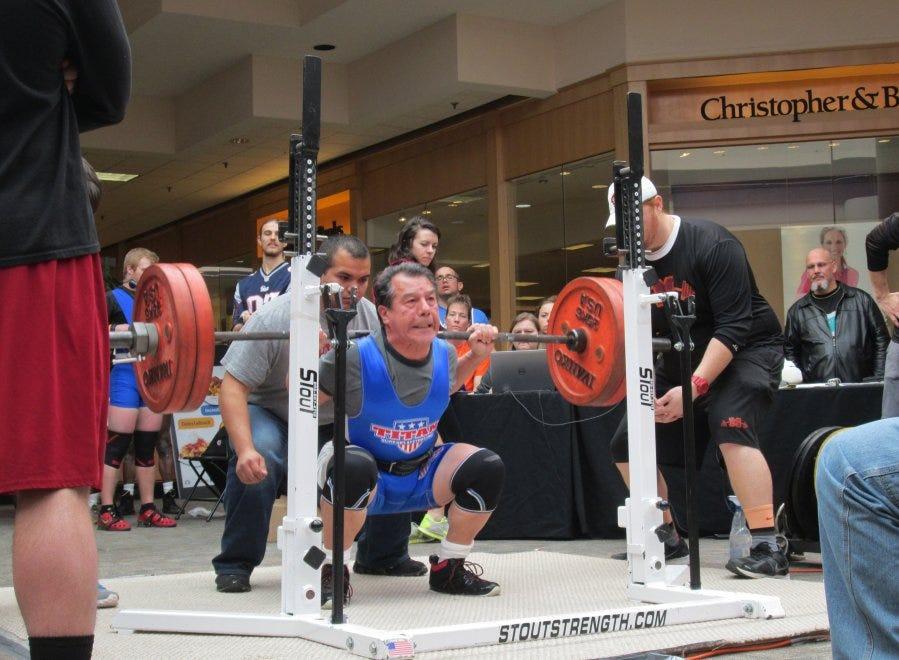 Powerlifter defying age, winning world titles – 96 7 Merle
