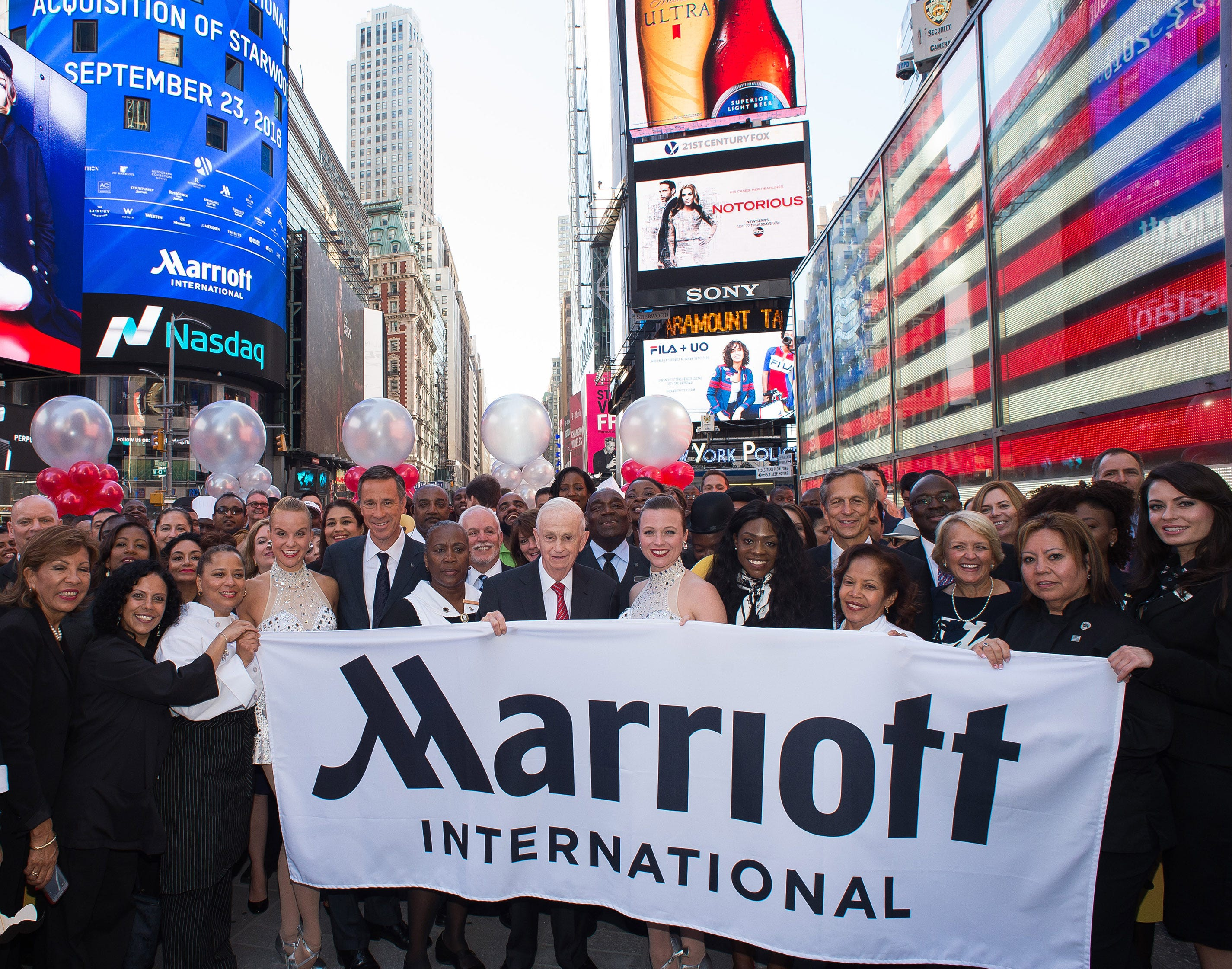 Marriott International to add 300,000 hotel rooms after Starwood deal