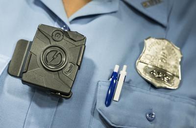 A body camera from Taser.