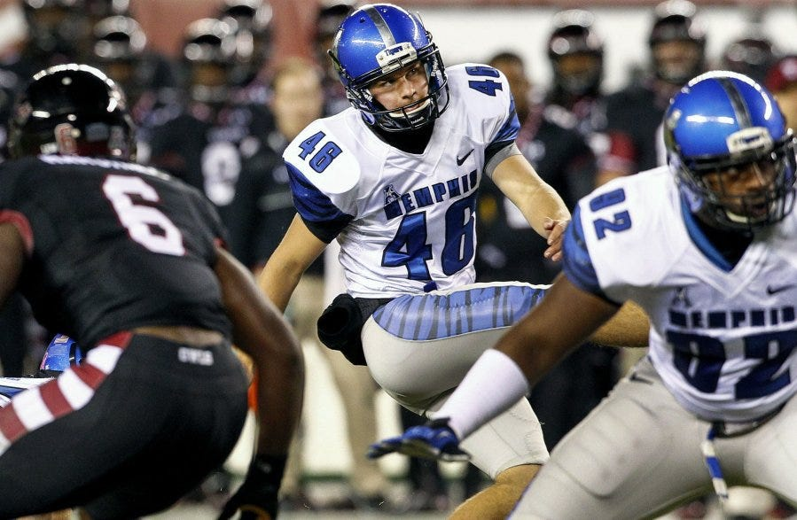 Memphis' Jake Elliott drafted by the Cincinnati Bengals in the fifth round