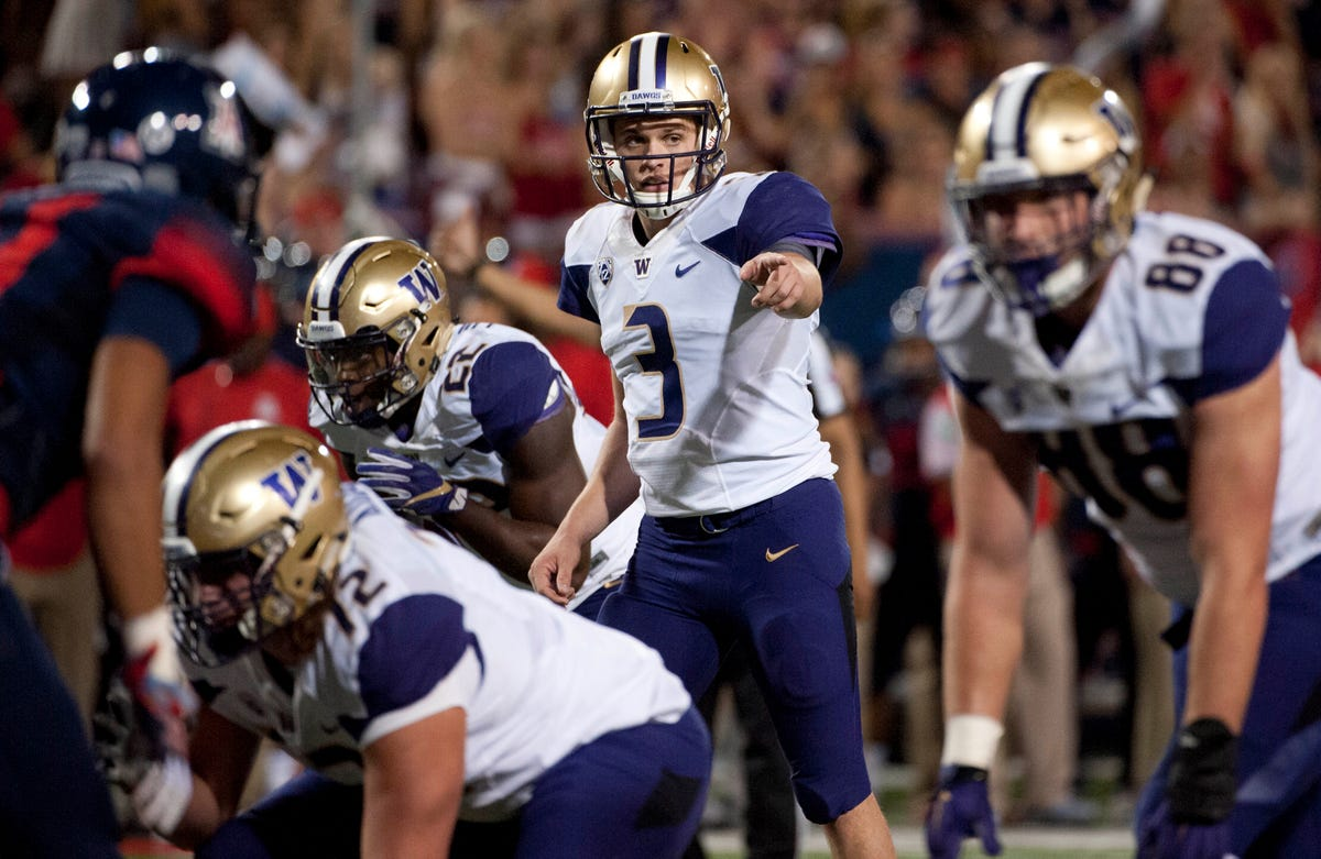 1cb1af49 Armed with knowledge, Jake Browning is ideal QB for Washington