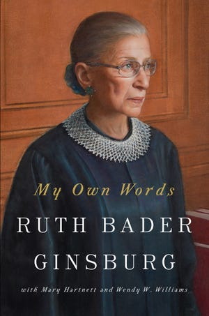 """My Own Words' by Ruth Bader Ginsburg"