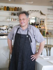 Restaurateur and chef Chris Bianco in his restaurant, Tratto in Phoenix.