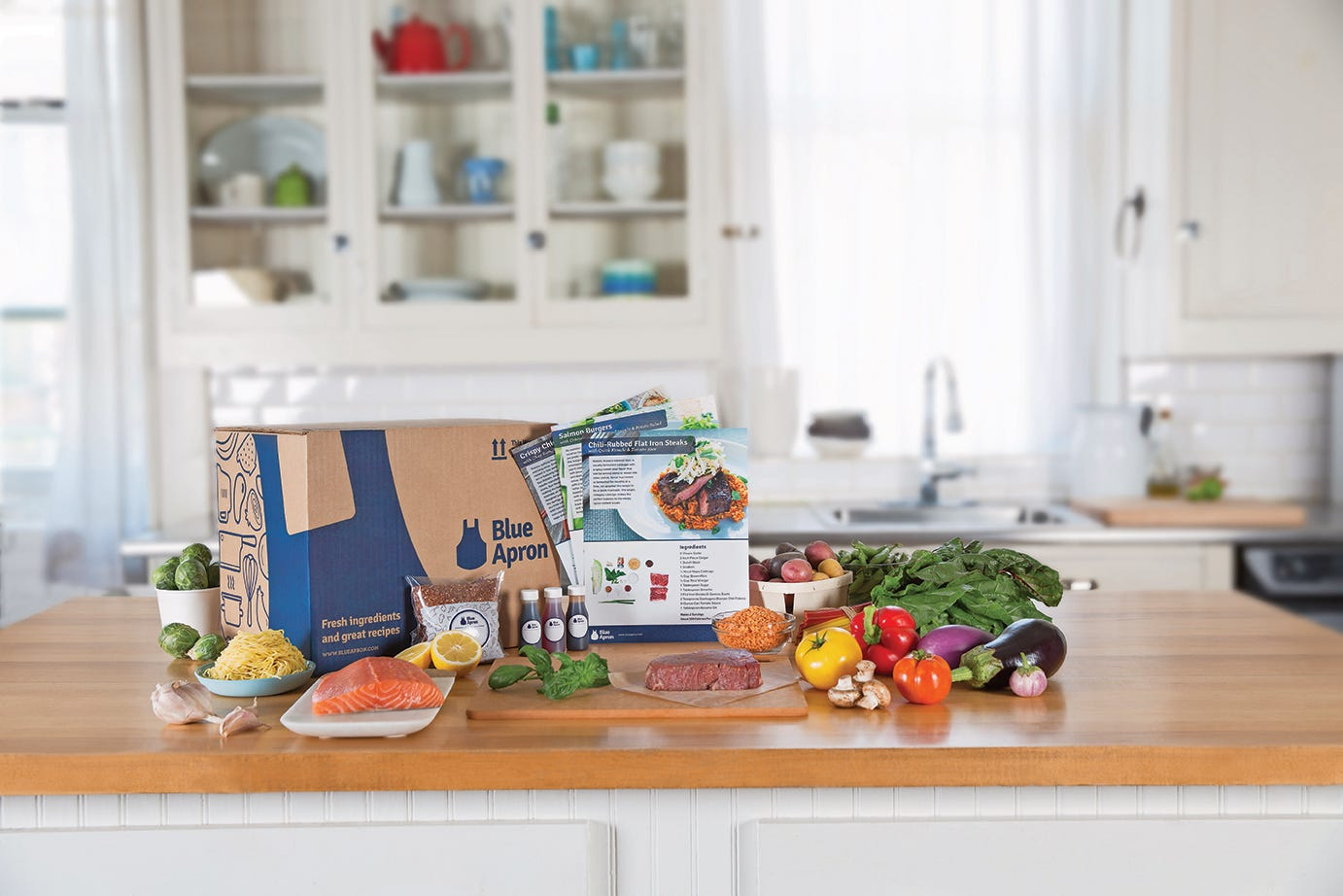 Blue Apron prices IPO at $15-$17 per share to raise $500M