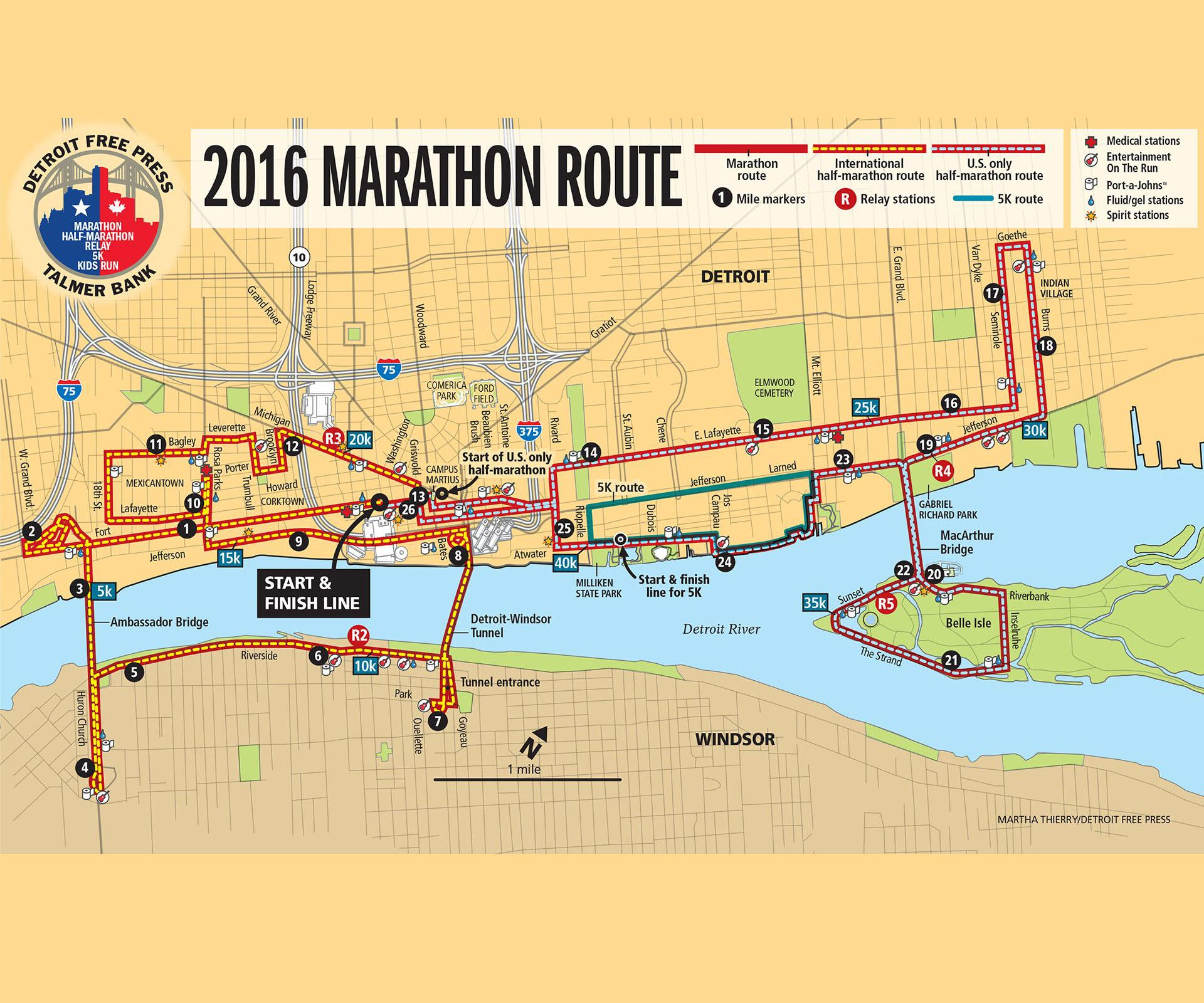 Detroit Lions Fans Here S How To Dodge Marathon Traffic Sunday