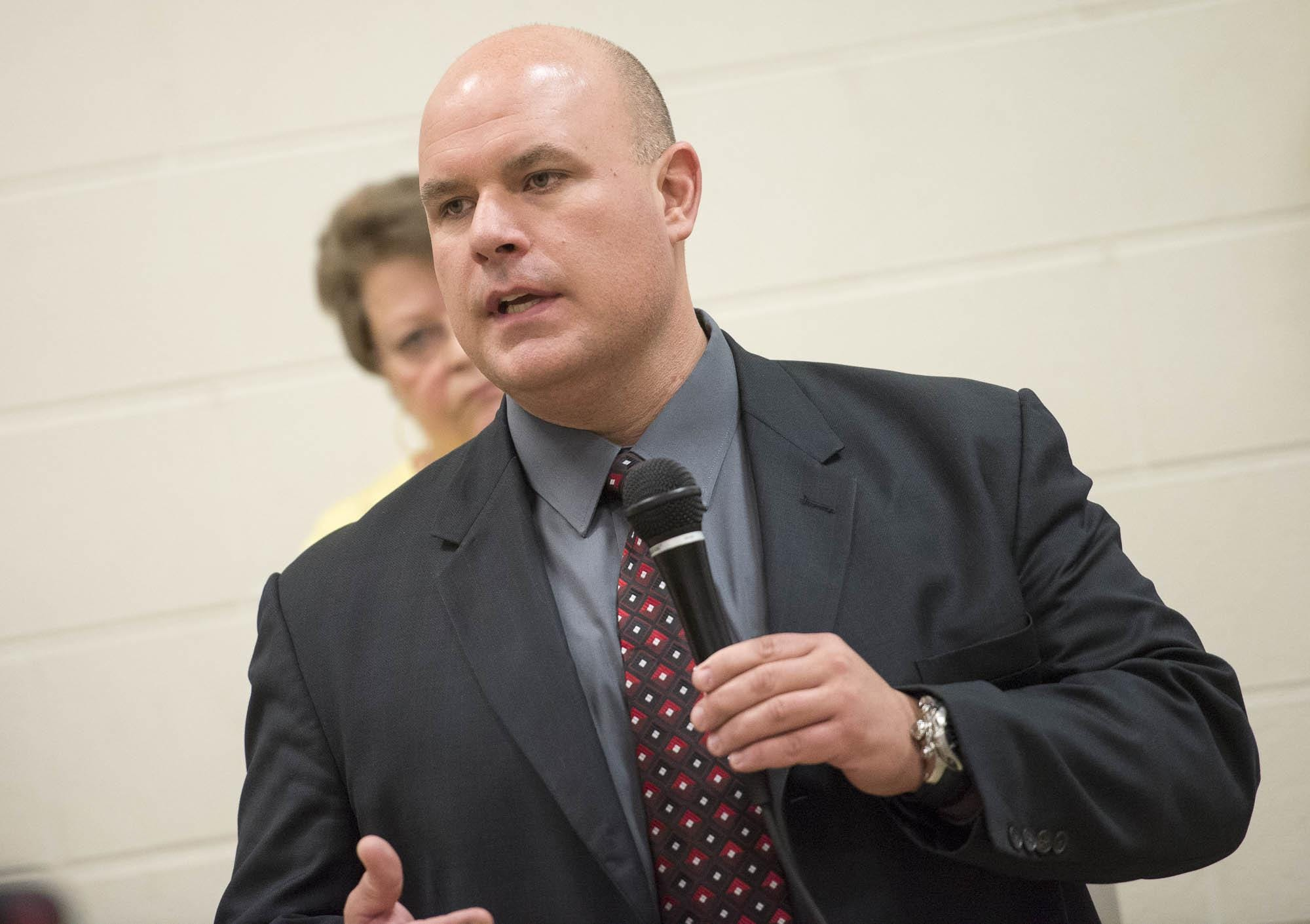 Van Buren Township mandates COVID-19 vaccines, unions push back