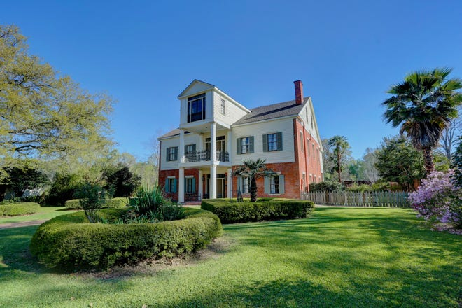 This four-bedroom, three-bath estate is located at 386 Arlington Road. It is listed at $498,500.
