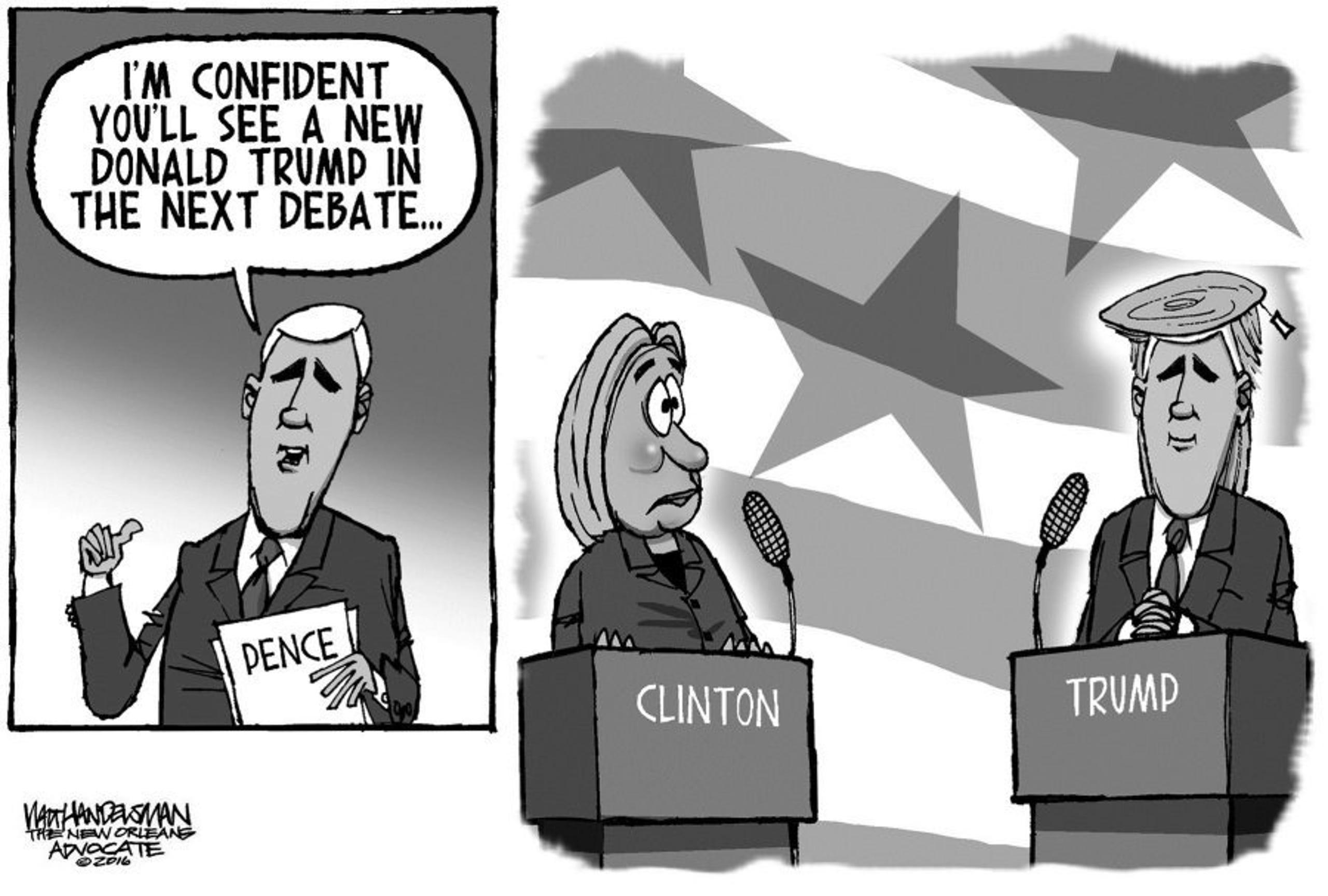 Political Cartoons 10 11 2016