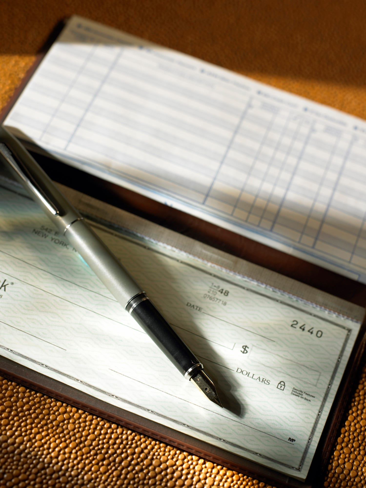 Stop balancing your checkbook