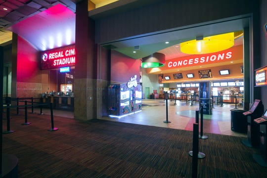 Regal Cinemas will require masks except when eating and drinking.